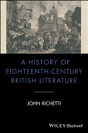 A History of Eighteenth-Century British Literature [Pdf/ePub] eBook