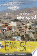 Neoliberalism, Interrupted Online Book