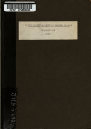 Proceedings at the Annual Meeting of the National Civil Service Reform League