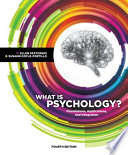 What Is Psychology Foundations Applications And Integration