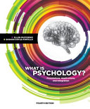 What is Psychology   Foundations  Applications  and Integration Book