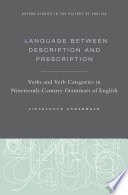 Language Between Description and Prescription