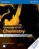 Books - Cambridge Igcse� Chemistry Practical Teacher Guide With Cd-Rom | ISBN 9781316610947