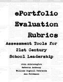 ePortfolio Evaluation Rubrics for School Leadership