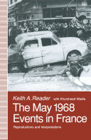 The May 1968 Events in France Pdf/ePub eBook