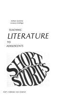 Teaching Literature To Adolescents Short Stories