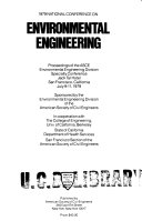 1979 National Conference on Environmental Engineering