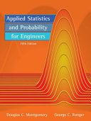 Applied Statistics and Probability for Engineers  5th Edition
