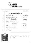 The Colorado Engineer Book PDF