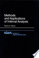 Methods and Applications of Interval Analysis Book