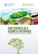 HIRE SERVICES AS A BUSINESS ENTERPRISE