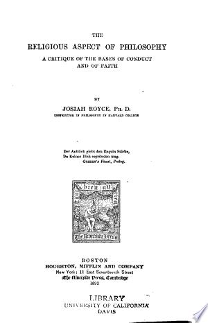The+Religious+Aspect+of+Philosophy