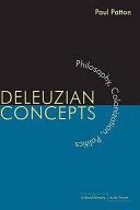 Deleuzian Concepts