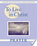 To Live in Christ Prayer