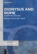 Pdf Dionysus and Rome Telecharger