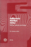 Adhesively Bonded Joints ebook