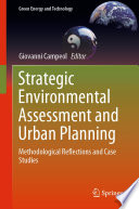 Strategic Environmental Assessment and Urban Planning