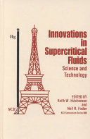 Innovations in Supercritical Fluids Book