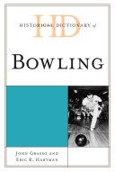 Historical Dictionary of Bowling Pdf/ePub eBook