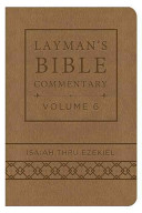 Layman's Bible Commentary Vol. 6 (Deluxe Handy Size)