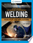 Study Guide with Lab Manual for Jeffus' Welding