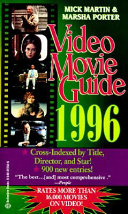 Video Movie Guide 1996