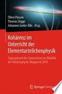 Kohärenz im Unterricht der Elementarteilchenphysik