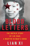 Pdf Blood Letters