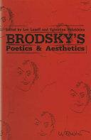 Brodsky's Poetics and Aesthetics Pdf/ePub eBook