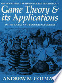 Game Theory And Its Applications