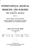 International Journal of Medicine and Surgery and Surgical Journal