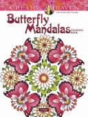 Creative Haven Butterfly Mandalas Coloring Book