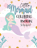 Little Mermaid Coloring Book For Kids Ages 4 8