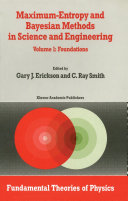 Maximum-Entropy and Bayesian Methods in Science and Engineering Pdf/ePub eBook