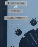 Purchasing and supply management with 50 supply chain cases purchasing and supply management michiel r leendersharold e fearon no preview available 1997 fandeluxe Images