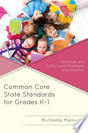 Common Core State Standards For Grades K 1