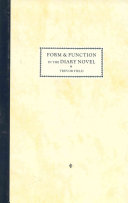 Form and Function in the Diary Novel
