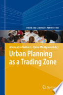 Urban Planning As A Trading Zone Book