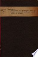 Tiedemann s Record of Infant life Book