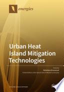 Urban Heat Island Mitigation Technologies