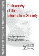 Philosophy of the information society