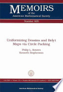Uniformizing Dessins And Bely Maps Via Circle Packing