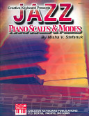 Jazz piano scales and modes