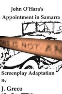 John O Hara s Appointment in Samarra Book