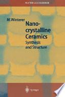 Nanocrystalline Ceramics Book