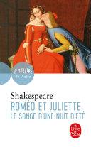 Pdf Roméo et Juliette suivi de Le Songe d'une nuit d'été Telecharger