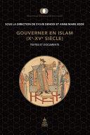 Pdf Gouverner en Islam (Xe-XVe siècle) Telecharger
