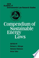 Compendium of Sustainable Energy Laws Book