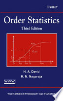 Order Statistics Book