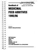 Handbook of Medicinal Feed Additives, 1995/96